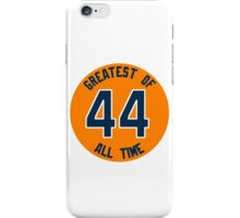 GREATEST OF ALL TIME. #GOAT iPhone Case/Skin