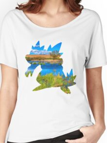 Feraligatr used surf Women's Relaxed Fit T-Shirt