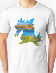 Feraligatr used surf T-Shirt