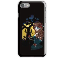 Day of the Dead and Gothic window iPhone Case/Skin