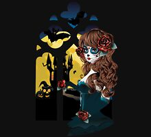 Day of the Dead and Gothic window Unisex T-Shirt