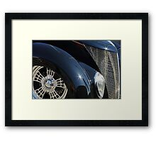 The Black Widow. Framed Print