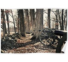 Cannons - Gettysburg, Pennsylvania Poster