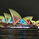 Vivid Sydney Opera House by Michael John