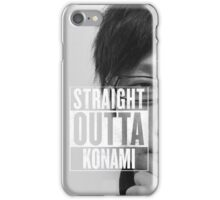 Straight Outta Konami iPhone Case/Skin