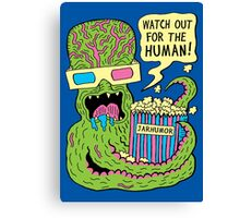 Alien Monster Movie Canvas Print