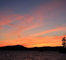 Lake of Bays Sunset by Karyn Boehmer