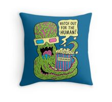 Alien Monster Movie Throw Pillow