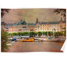 A Grand City - Stockholm, Sweden Poster