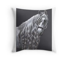 Andalusier - Andalusian Horse Throw Pillow