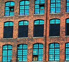 Factory Windows by Rodney Williams