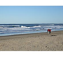 Beach Stroll (along Seven Mile Beach, NSW) Photographic Print