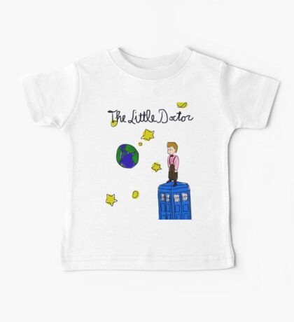 The Little Doctor (open background) Baby Tee