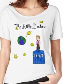 The Little Doctor (open background) Women's Relaxed Fit T-Shirt