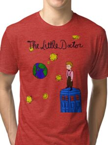 The Little Doctor (open background) Tri-blend T-Shirt