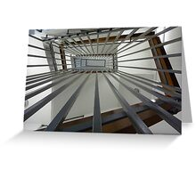 Internal Stairs - As Is Greeting Card