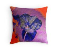 Purple Phantasy Throw Pillow
