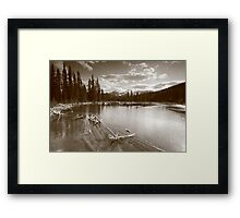Beaver lake III Framed Print