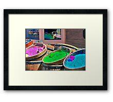 Bath Salts Framed Print