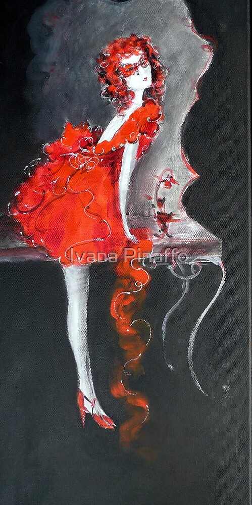lady in red by Ivana Pinaffo