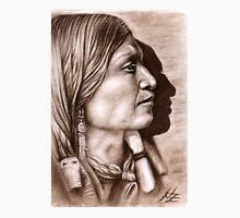Profile Jicarilla Apache Chief Unisex T-Shirt