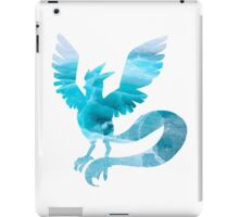 Articuno used sheer cold iPad Case/Skin