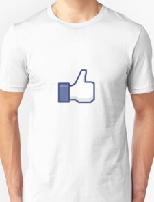 """Facebook: """"Like"""" This Tee T-Shirt"""