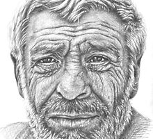 Old Man from Greece by Nicole Zeug