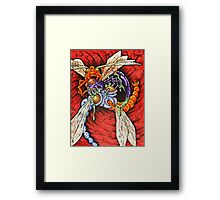 DRAGONFLIES Framed Print