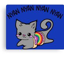Nyan Nyan Canvas Print