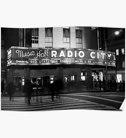 Radio City Music Hall Poster