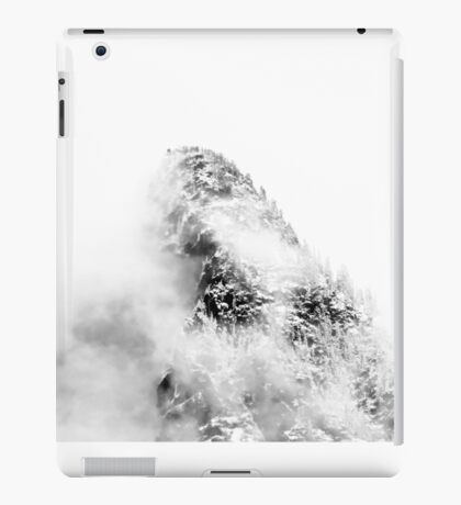 Mountain Peak In Clouds iPad Case/Skin