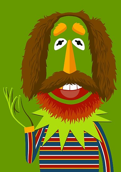 A portrait of Jim Henson by MrWhaite