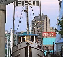 Fish Boat by Rae Tucker