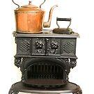 Cast iron Stove by Kawka