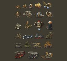 Metal Slug - Design 02 by Greg Little