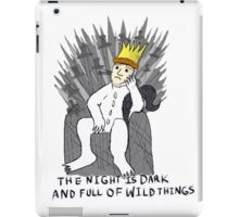 A Game Of Wild Things iPad Case/Skin