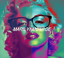 Pop Marilyn Monroe by Gema Zavala