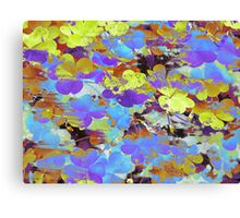 Clover Splatter Canvas Print