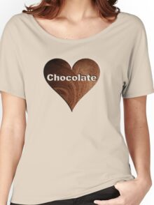 Chocolate Women's Relaxed Fit T-Shirt