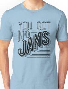 You Got No Jams - BTS Distressed Typography (Black) Unisex T-Shirt