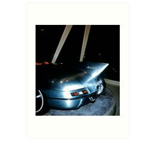 1956 Pontiac Club De Mer at General Motors Motorama 1956 Art Print