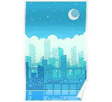 Blue Moon City Poster
