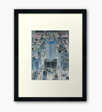 Gotham City Blues Framed Print