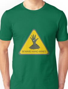 Beware of the Hand Mines (Doctor Who) Unisex T-Shirt