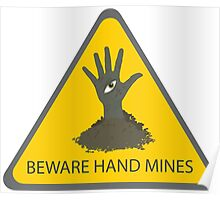Beware of the Hand Mines (Doctor Who) Poster