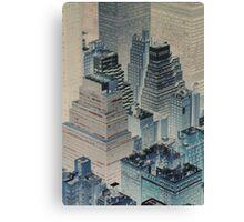 Gotham City Blues 2 Canvas Print