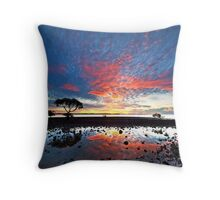 Tidal Twilight - Cleveland Point Qld Throw Pillow