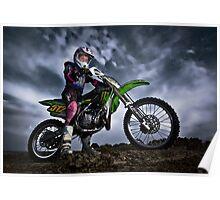 Motocross Miss Poster