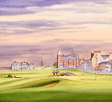 St Andrews Golf Course - 17th Green by bill holkham